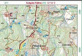Cartina Topografica.Come Leggere Una Carta Topografica Da Trekking Solo Montagna