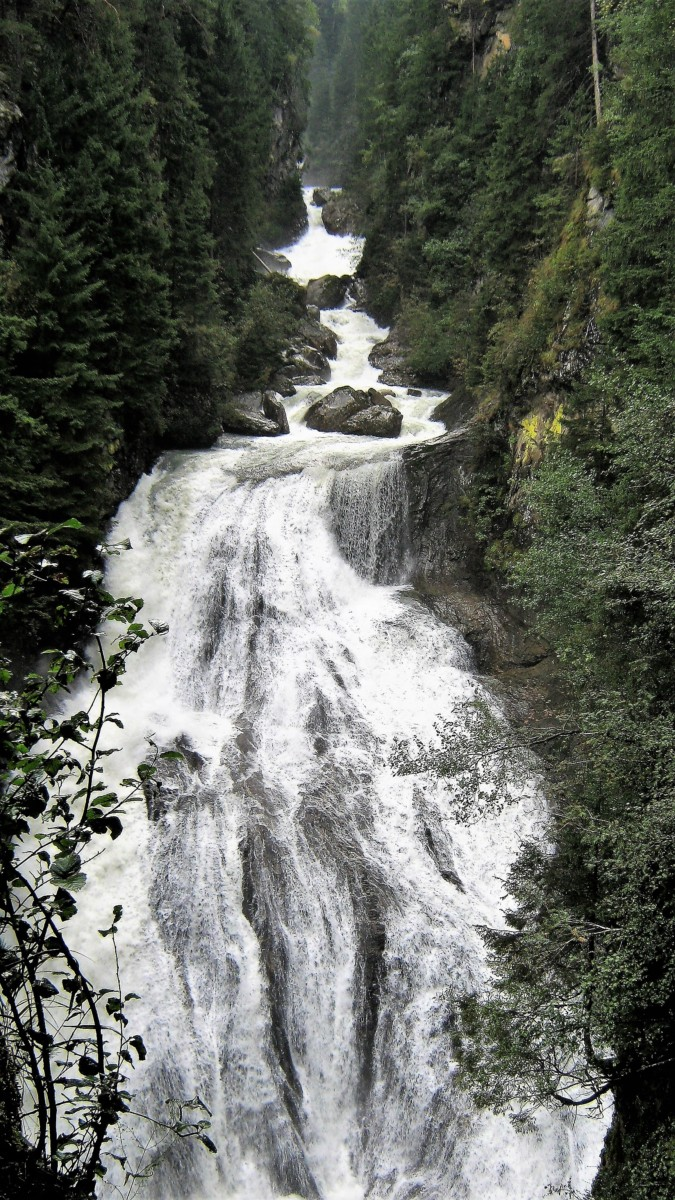 Cascate di Riva di Tures a Brunico - Lovers in the World