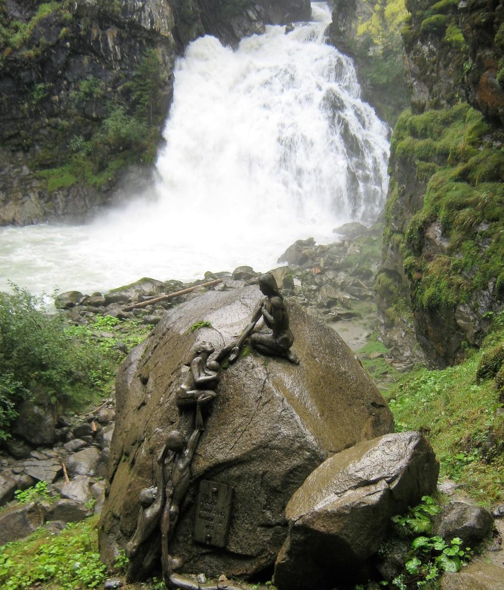 Le cascate di Riva di Tures in Alto Adige (Valle di Tures ed Aurina)