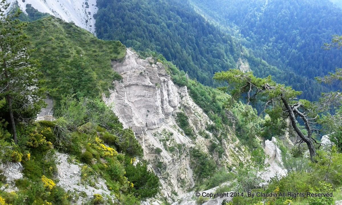 Sentiero naturalistico del Lander da Piano d'Arta