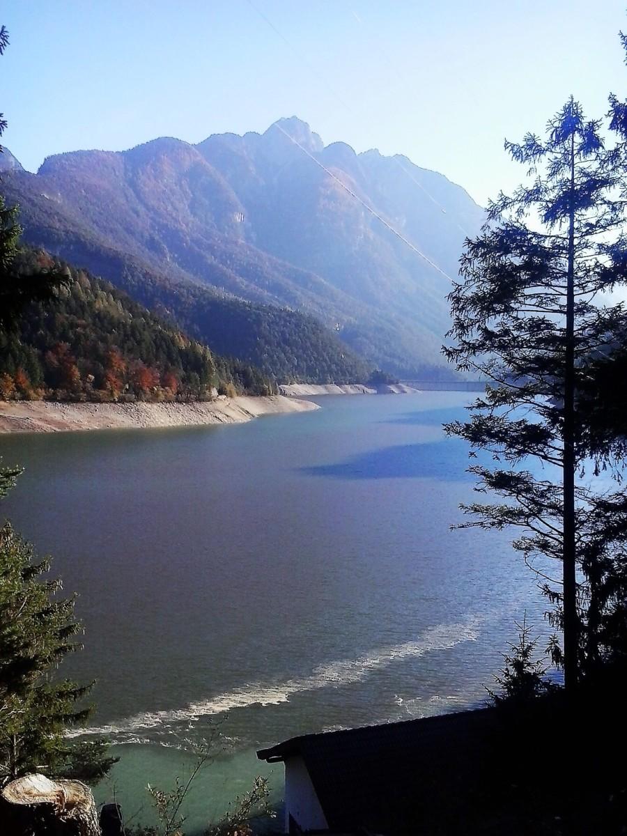 Lago di centro Cadore (BL)